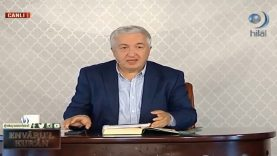 Envâru'l Kur'ân Dersleri 80 (76. İNSÂN SÛRESİ 1-4. Âyetler)