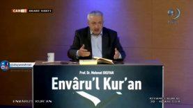Envâru'l Kur'ân Dersleri 87 (74. KIYAMET SÛRESİ 20-40 Âyetler)