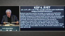 Envâru'l Kur'ân Dersleri 94 (50. KÂF SÛRESİ 1-5Âyetler)